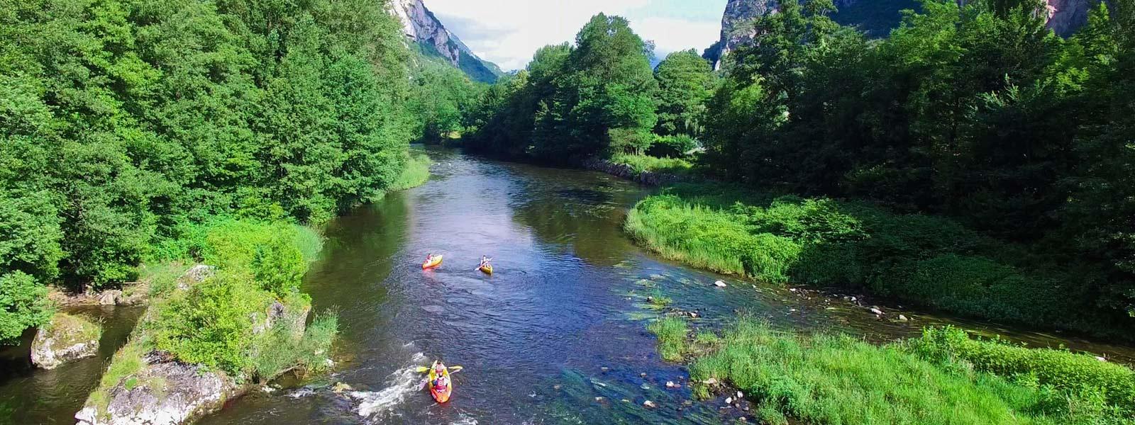 Location de canoë et kayak sur l'Ariège
