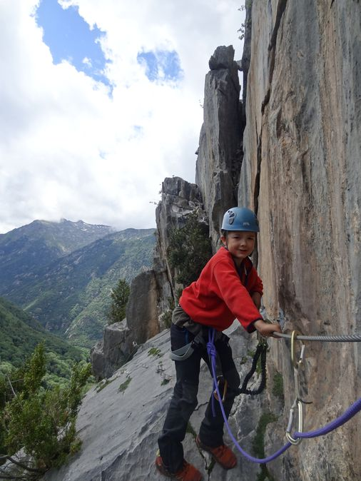 Via ferrata - Ariège - Pont suspendu